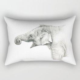 Baby Elephant G005 Rectangular Pillow