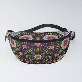 decorative ornate candy with soft candle light for peace Fanny Pack