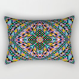 Triangle Takeover Rectangular Pillow