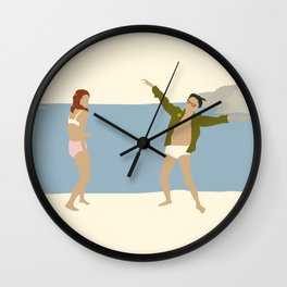 MOONRISE KINGDOM COVE Wall Clock