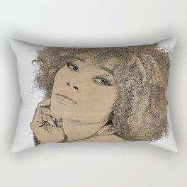Exotic woman Rectangular Pillow