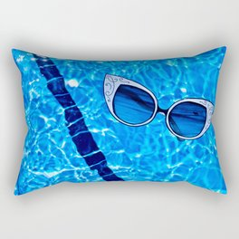 Paper Sunglasses Rectangular Pillow