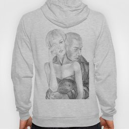 In his arms Hoody