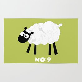 Sheep Number 9.... Rug