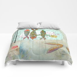 Fishy Feast Comforters