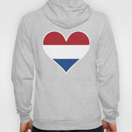 Dutch Flag Heart Hoody