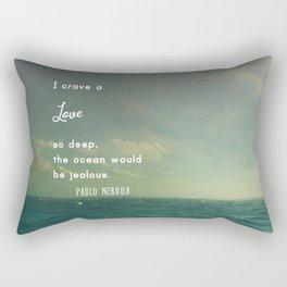 Deeper Than the Ocean Rectangular Pillow