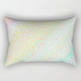 Pastel Rainbow Rectangular Pillow