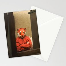 He Waits Silently  Stationery Cards