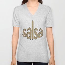Salsa Choco Wrap Unisex V-Neck
