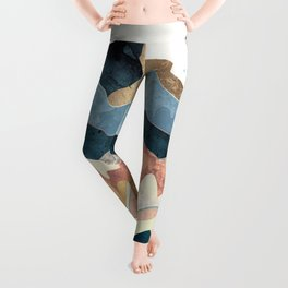 Golden Peaks Leggings