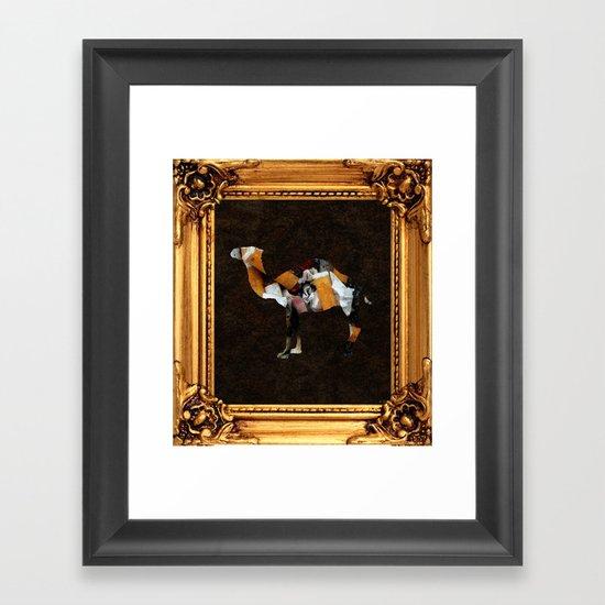 Camel Collage 3F Framed Art Print