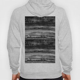 layers in grayscale Hoody