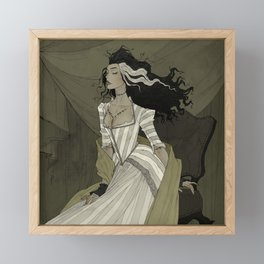 A Bride for the Monster Framed Mini Art Print