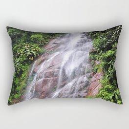 Peruvian Waterfall III Rectangular Pillow