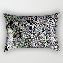 March Hare in the Looking Glass Rectangular Pillow