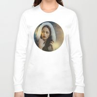 belle Long Sleeve T-shirts featuring Belle by Rose's Creation