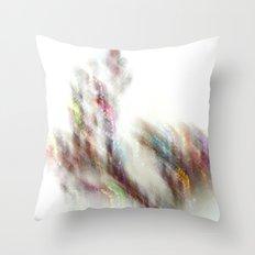Glittering Tree - JUSTART Throw Pillow