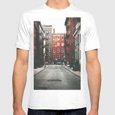 Gay Street NYC White Mens Fitted Tee MEDIUM
