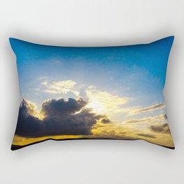 Twin Flame Cloud Lovers Rectangular Pillow