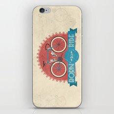 Born to Ride iPhone & iPod Skin