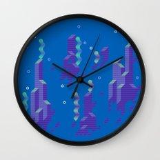 Super Mario World (underwater) Wall Clock