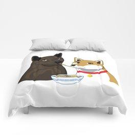 Ramen Date Comforters