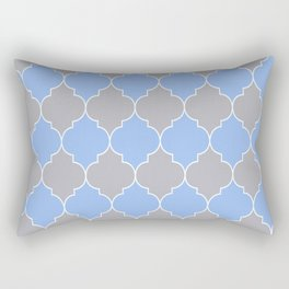 Moroccan trellis pattern Rectangular Pillow
