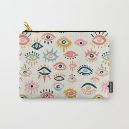 Mystic Eyes – Primary Palette Carry-All Pouch