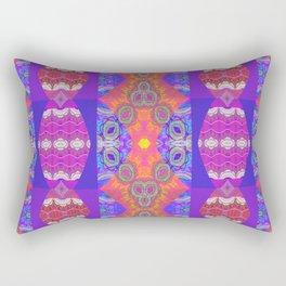 Cosmic Dreamtime Boujee Boho Royal Print Rectangular Pillow