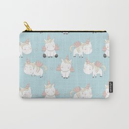 Pegacorn - Mint Blue Carry-All Pouch