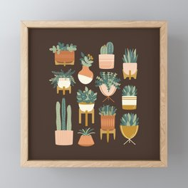 Cacti & Succulents Framed Mini Art Print