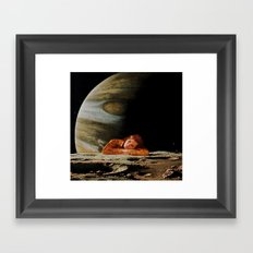 The Home Planet Framed Art Print