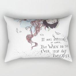 Strange the Dreamer Rectangular Pillow