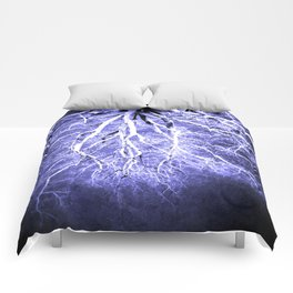 Passage to Hades Periwinkle Gray Comforters