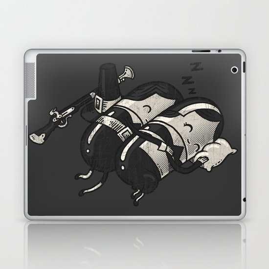 Sleeping Pillgrims Laptop & iPad Skin