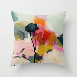 paysage abstract Throw Pillow