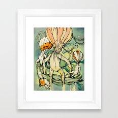 Lifted,Grounded. Framed Art Print