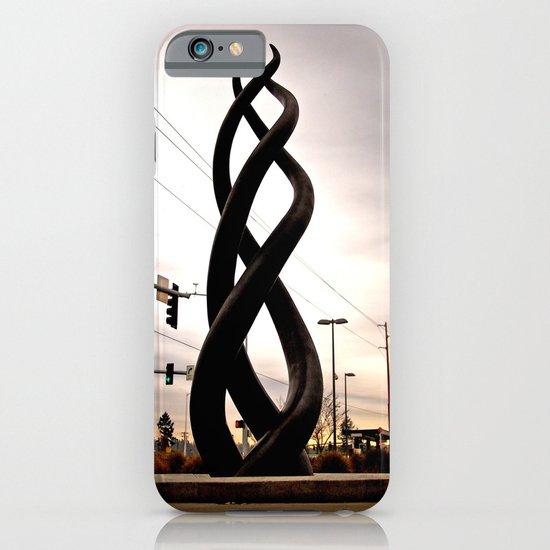 Train station sculpture iPhone & iPod Case