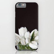 White Tulips iPhone 6s Slim Case