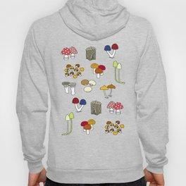 Kinoco Mushroom Families Hoody