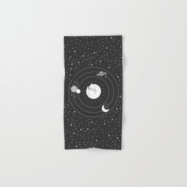 The Space Cat Hand & Bath Towel