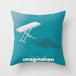 Never Forget to Play - Piano Throw Pillow