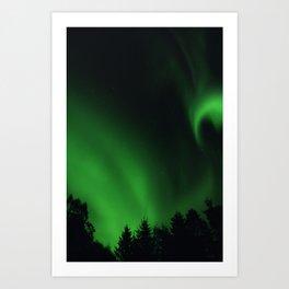 The Northern Lights 05 Art Print