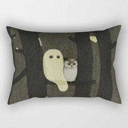Little Ghost & Owl Rectangular Pillow