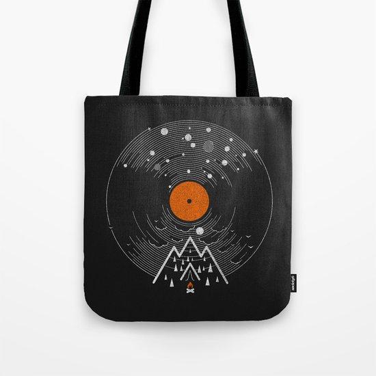 re/cordless Tote Bag