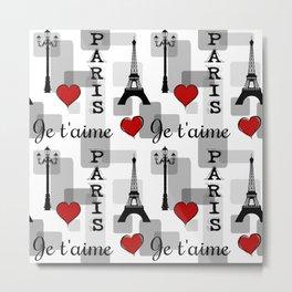 Paris 3 Metal Print