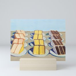 Classical Masterpiece Cake Rows, 1920 Mini Art Print