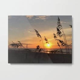 Sunrise over Atlantic Metal Print