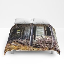 Weathered And Worn Comforters